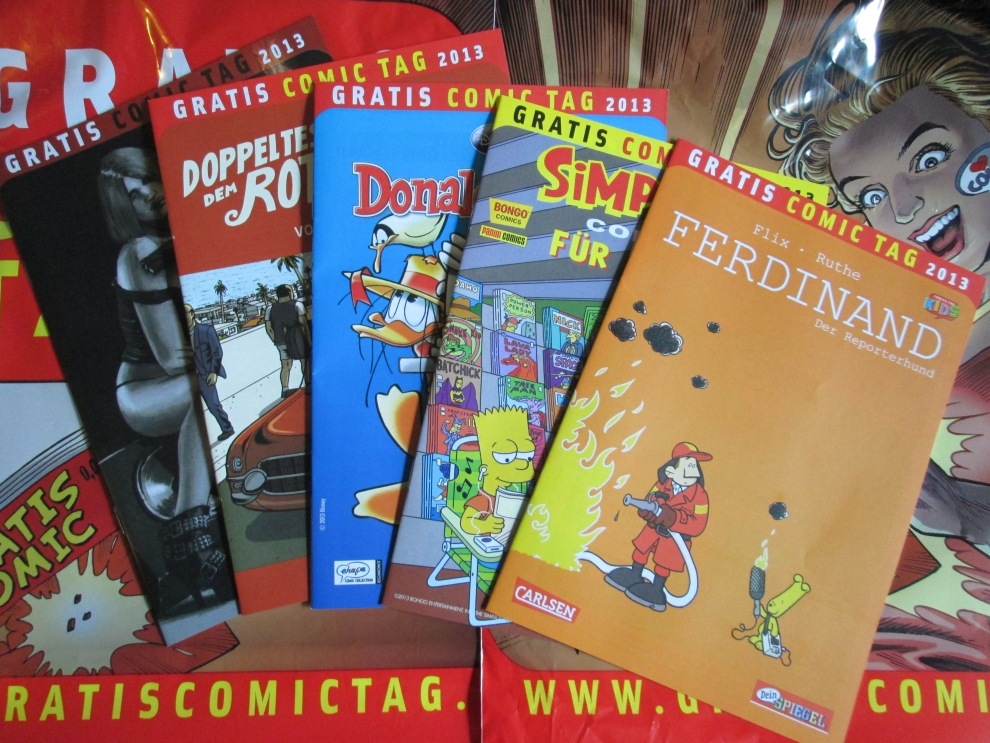 Gratis-Comic-Tag 2013