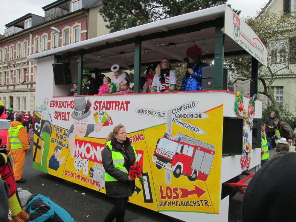 Karnevalsumzug Erkrath 2014