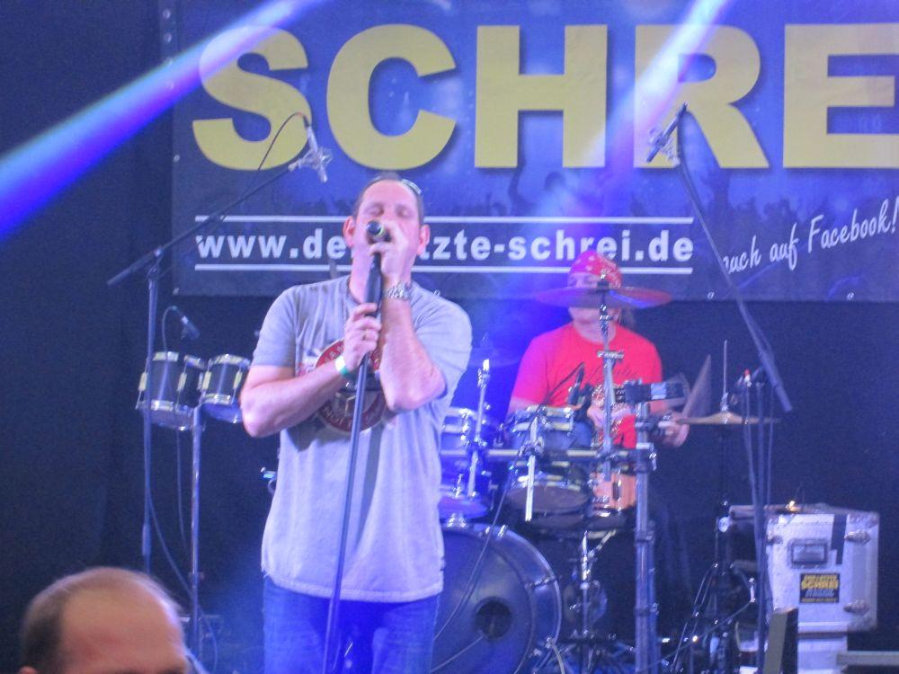 """Claus """"Chäf"""" Schäfer und Frank """"Sobi"""" Sobirey."""
