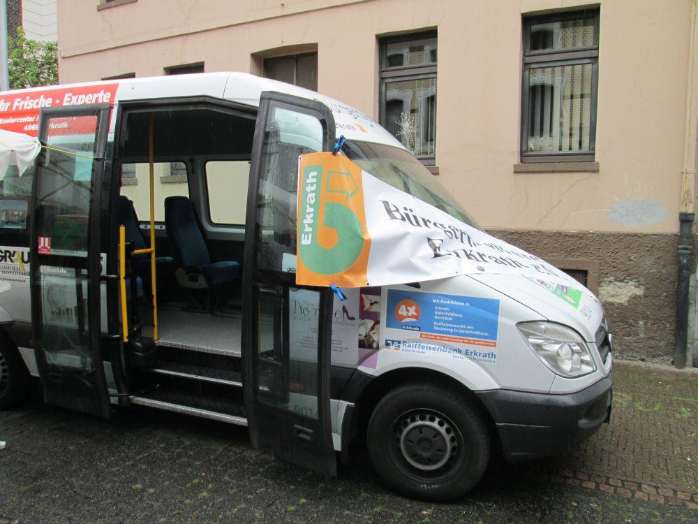 Bürgerbus Erkrath (Rheinbahn-Wagen Nr. 9014).